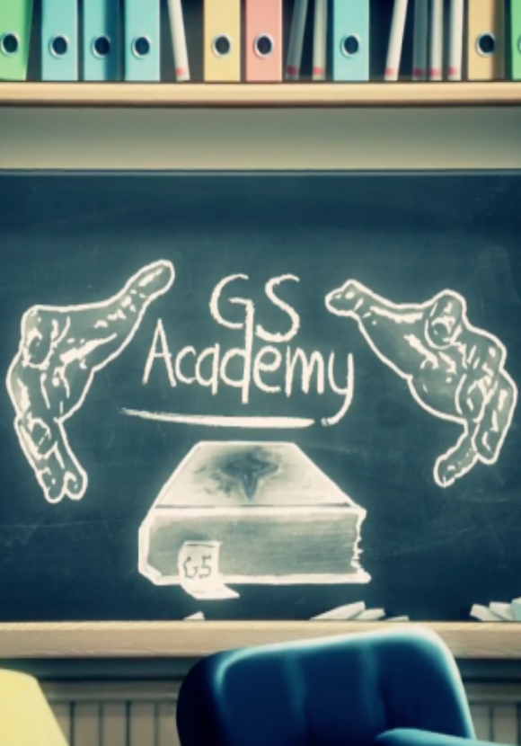GS Academy - Intro Animation Sound Design